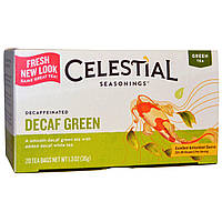 Celestial Seasonings, Зеленый чай без кофеина, 20 пакетиков, 36 г