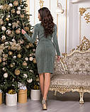 Очень красивое женское вечернее платье из стрейчевого люрекса 44-50р.(4расцв), фото 10