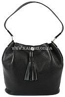 Распродажа! Сумка женская натуральная кожа Karya 0789-45 черный Турция