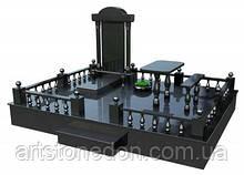 3D модель комплекса из гранита № 16