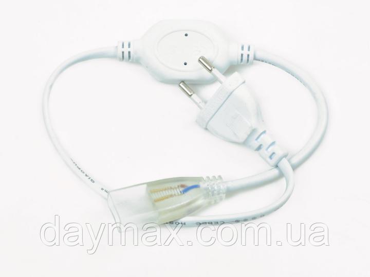 Адаптер питания+коннектор для светодиодного Led неона Standart 2835 120Led