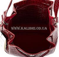 Распродажа! Сумка женская натуральная кожа Karya 0789-08 бордовый Турция, фото 5