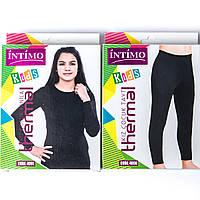 Комплекты подростковые оптом для девочки: кофта и гамаши Intimo Турция 4091_4090