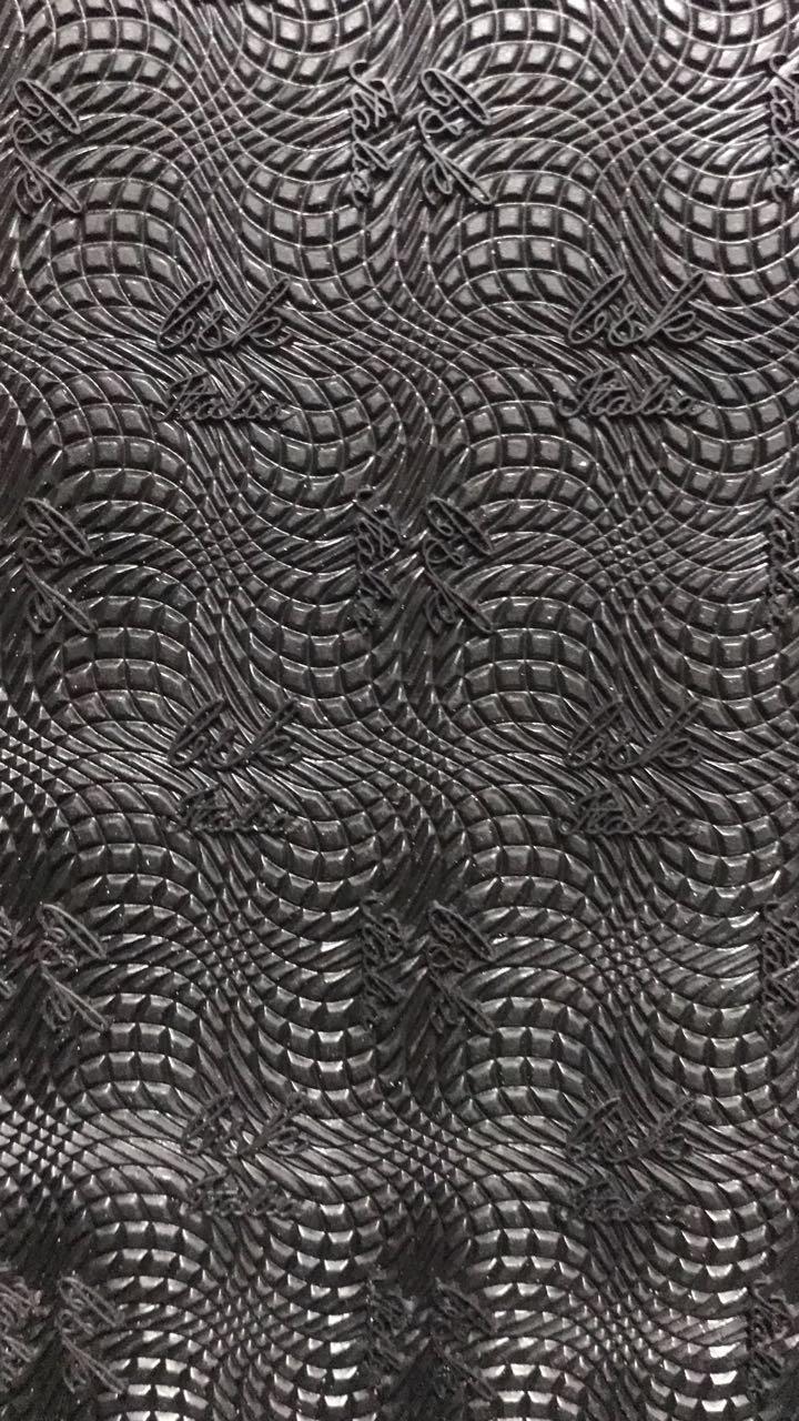 Набоечная резина премиум качества BSK 6,5mm черная