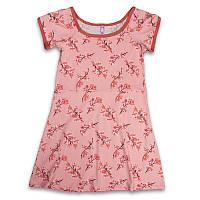 Ночные рубашки женские оптом батальные с цветочным узором Sexen Турция 16077