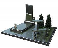 3D модель памятника из гранита № 1