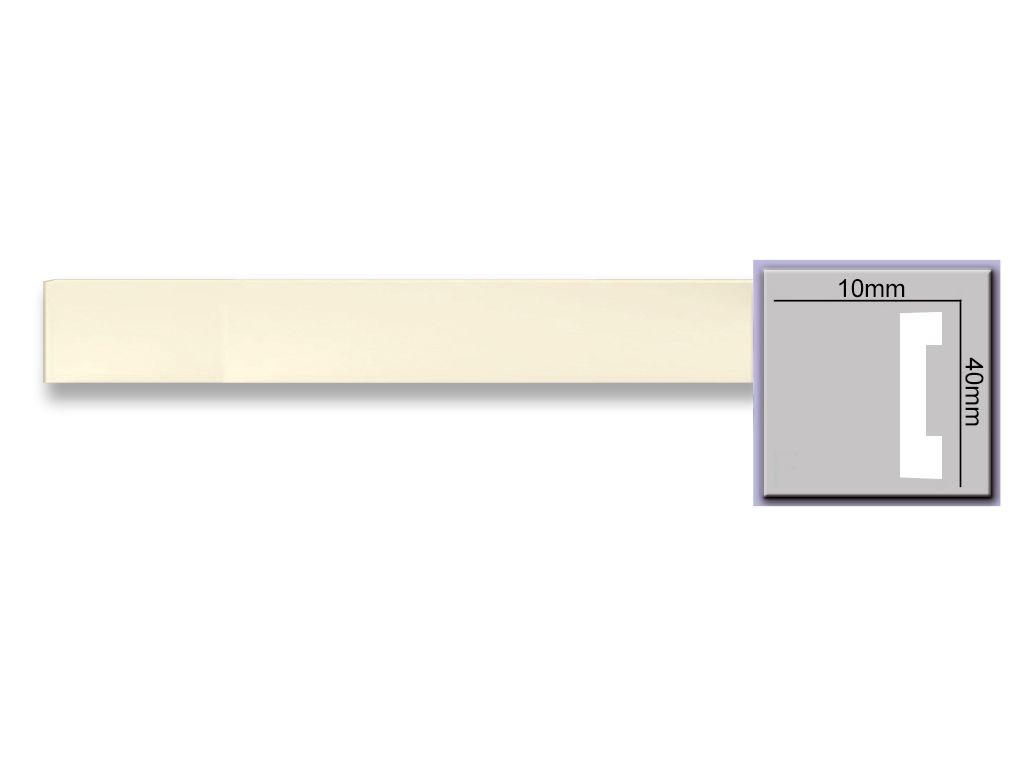 Плинтус Harmony M202 (40x10)мм