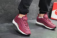 Мужские кроссовки Nike Air Max 97 Burgundy