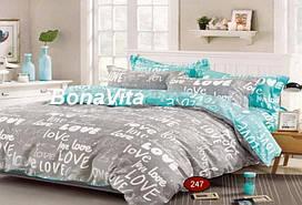 BonaVita полуторное постельное бельё бязь голд люкс
