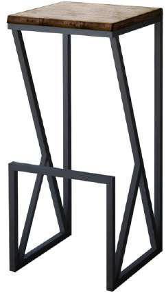 Стілець в стилі лофт -Водомір, для дому, ресторану.