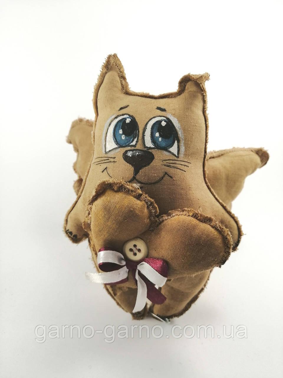 Кофейный Кот - Ангел с сердцем Ароматизированная игрушка