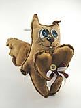 Кофейный Кот - Ангел с сердцем Ароматизированная игрушка, фото 6