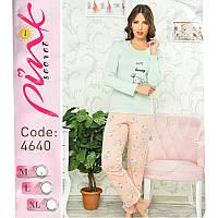 """Комплект двойка женский: кофта и штаны """"Cute Bunny"""" Pink Secret (Турция) PK4640"""