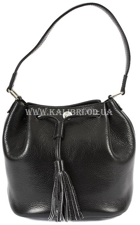 Распродажа! Сумка-клатч женский натуральная кожа Karya 0792-45 черный