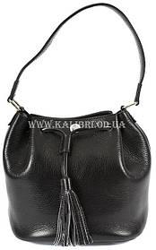 Розпродаж! Сумка-клатч жіночий натуральна шкіра Karya 0792-45 чорний