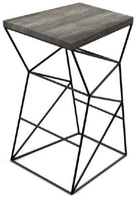 Табурет в стиле лофт -Квадро, для дома, ресторана.