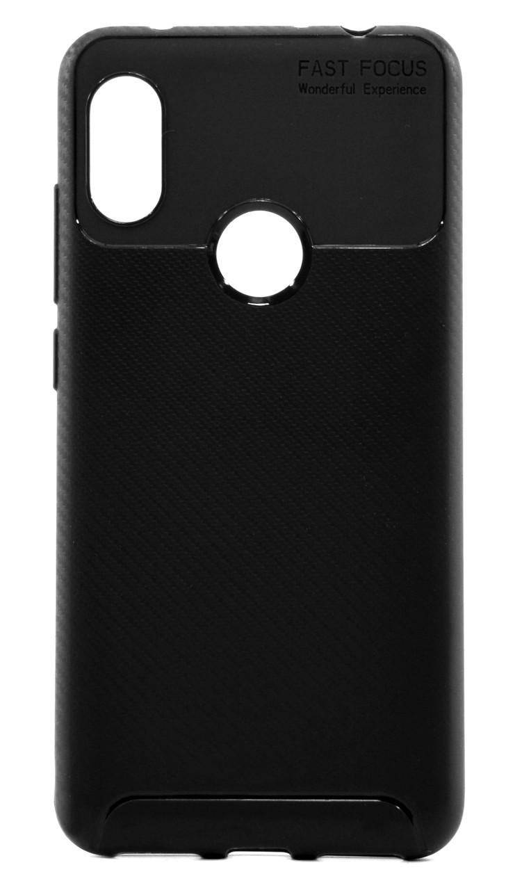 Чехол накладка для Xiaomi Redmi Note 6 PRO Kaisy ser. TPU Черный