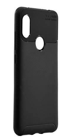Чехол накладка для Xiaomi Redmi Note 6 PRO Kaisy ser. TPU Черный, фото 2