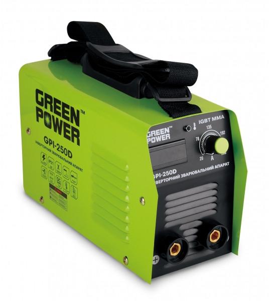 Инверторный сварочный аппарат GREEN POWER GPI-250 D