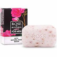 Натуральне мило для чоловіків BioFresh Rose of Bulgaria з рожевою водою 100 г