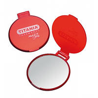 1505 L Зеркало в рамке карманное  Titania