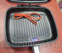 Сковорода для гриля двойная A-PLUS DOUBLE PAN (30 см), фото 3