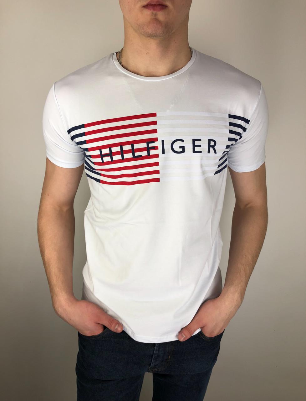 Мужская футболка Tommy Hilfiger качественная копия