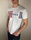 Мужская футболка Tommy Hilfiger качественная копия, фото 2