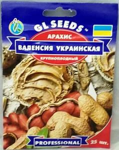 Арахіс Валенсія Українська 25н (GL SEEDS)