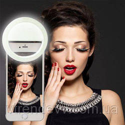 Кольцо для селфи SELFIE RING LIGHT на аккумуляторе