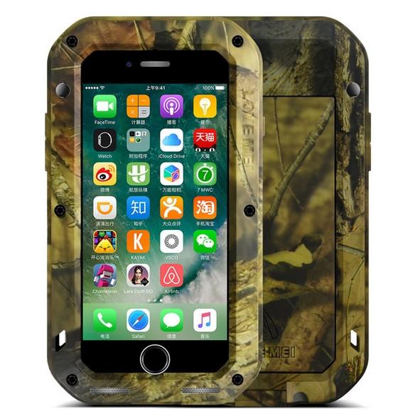 Чехол Love Mei PoverFul для iPhone 7 камуфляж