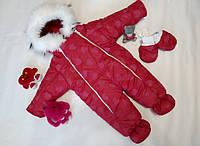 Утепленный комбинезон для новорожденных малышей Куколка