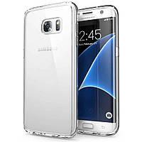 Чехол прозрачный силиконовый для Samsung Galaxy S7 Edge