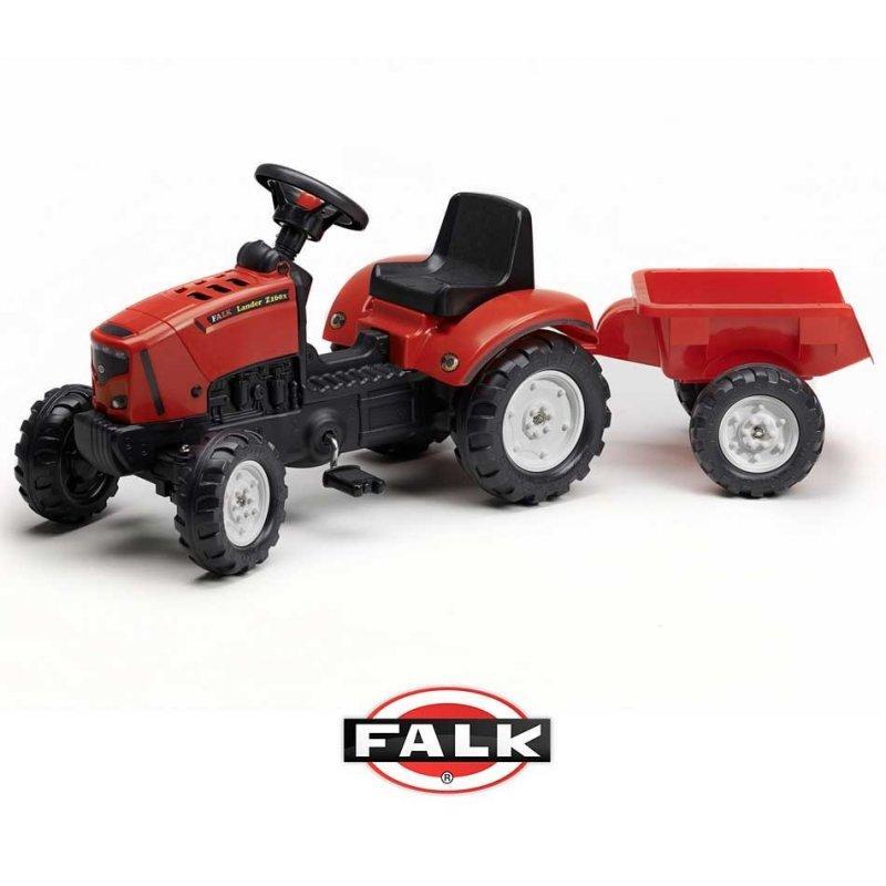 Педальний трактор з причепом FALK Lander 2030AC
