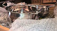 Набор кастрюль A-PLUS (2061) со стеклянными крышками 16, 18, 20, 22 см, фото 3
