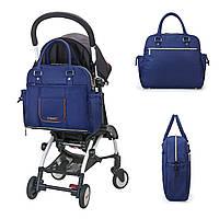 Удобная сумка-органайзер для мам Mommore   синий, фото 2