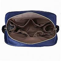 Удобная сумка-органайзер для мам Mommore   синий, фото 5