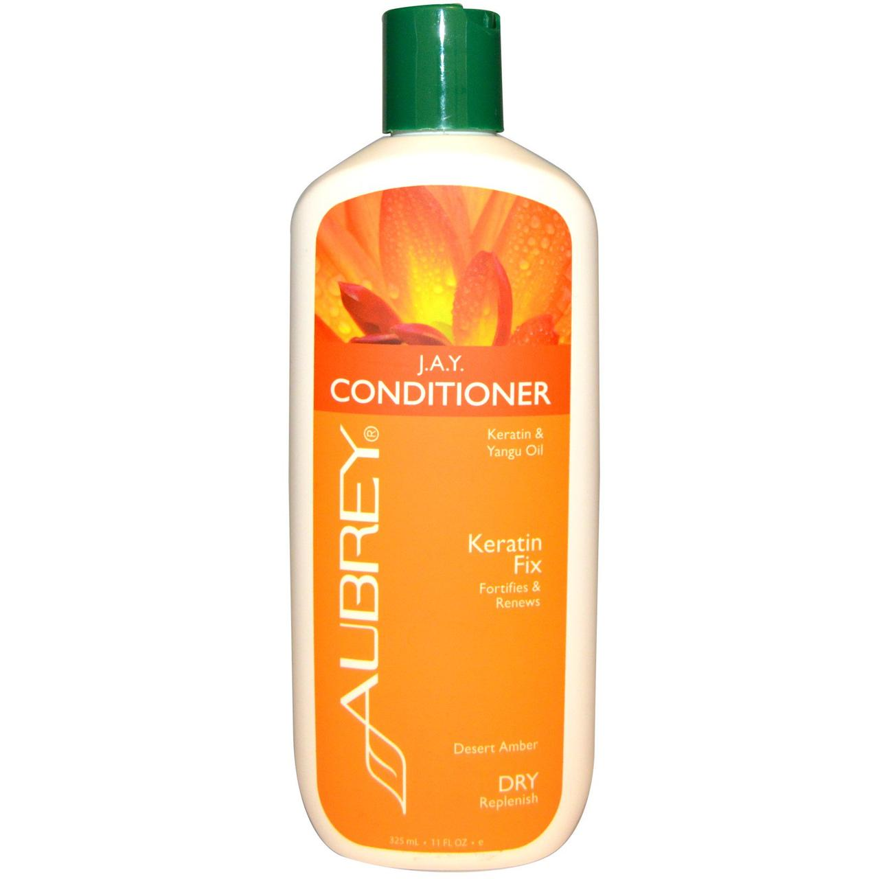 Aubrey Organics, J.A.Y. Conditioner, Dry Hair, Citrus Clove, 11 fl oz (325 ml)