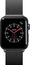 Laut STEEL LOOP ремешок для Apple Watch 38/40 мм, черный