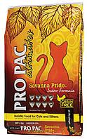 Pro Pac (Про Пак) Ultimates Savanna Pride Indoor Formula корм з куркою для кішок, 6кг, фото 1