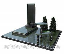 3D модель памятника из гранита № 2