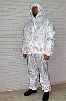 Зимний маскировочный костюм, маскхалат берёзка зима.