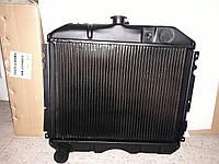 Радиатор охлаждения ГАЗ 24 (2-х рядный медный) (пр-во Иран)
