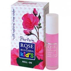 Духи Rose of Bulgaria детские c розовой водой, 10 мл