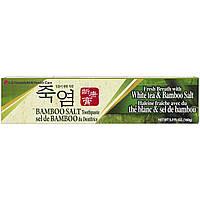 LG Household & Health Care, Зубная паста с бамбуковой солью, 160 г