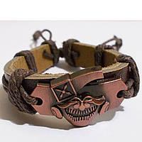 """Шкіряний браслет фенечка """"Пірат""""., фото 1"""