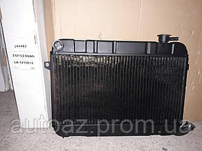 Радиатор охлаждения ВАЗ 2121 Нива медный Иран