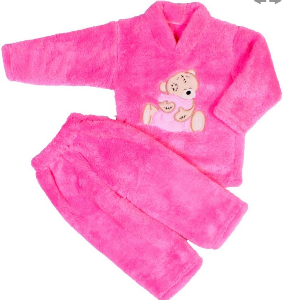 Пижама махра розовая