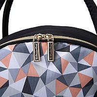 Большая сумка-рюкзак для прогулок и путешествий с младенцем  Mommore  черный для мам, фото 10