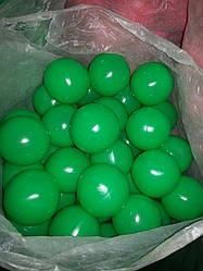 Шарики для сухого бассейна Ø8 см 200 шт зеленый